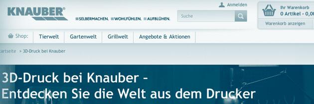 3d Druck bei Knauber in Bonn